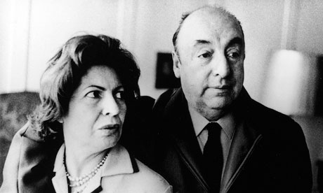 Pablo Neruda and wife Delia
