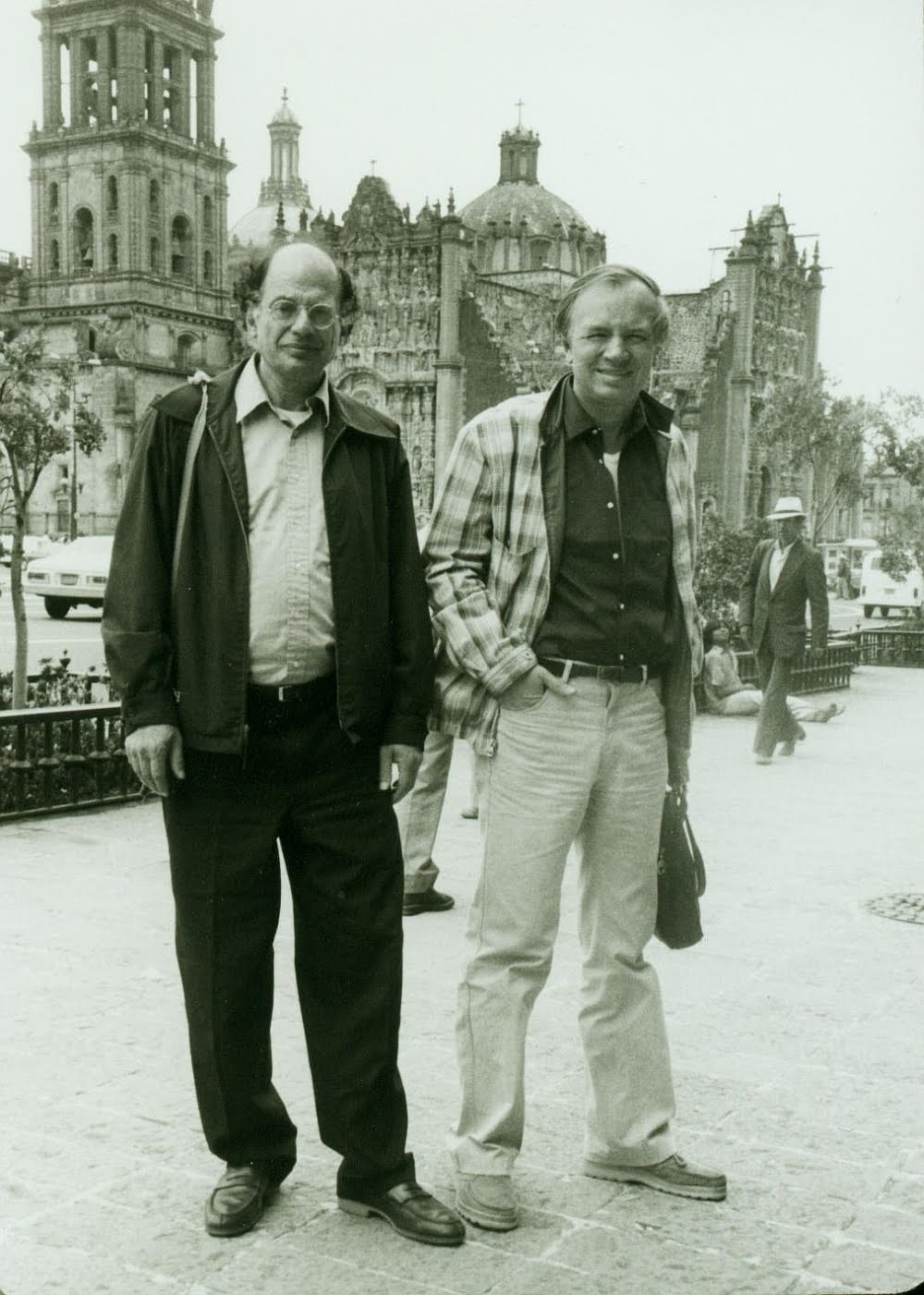 Ginsberg-Voznesensky-in-Mexico-City-1981